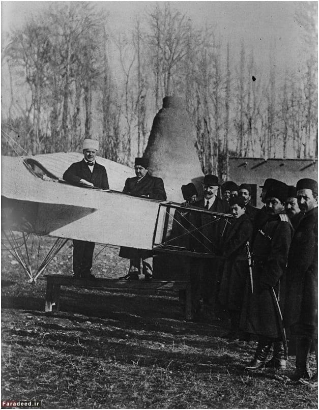 احمدشاه قاجار و اولین هواپیما در ایران
