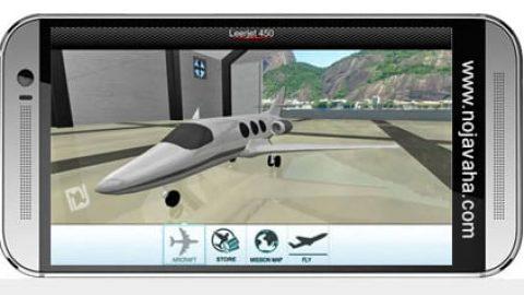 بازی موبایل شبیه ساز پرواز