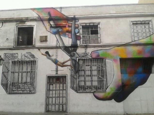 نقاشی روی دیوار (10)