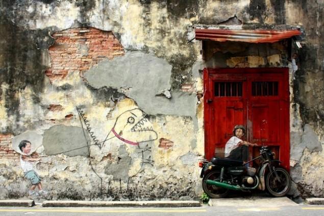 نقاشی روی دیوار (11)