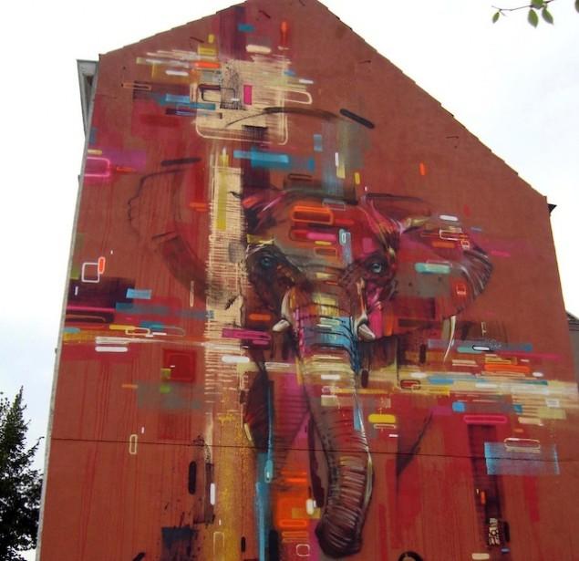نقاشی روی دیوار (20)