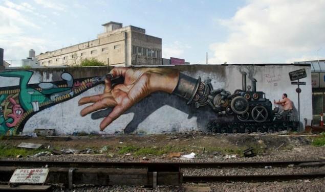 نقاشی روی دیوار (25)