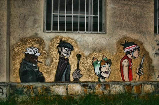 نقاشی روی دیوار (27)