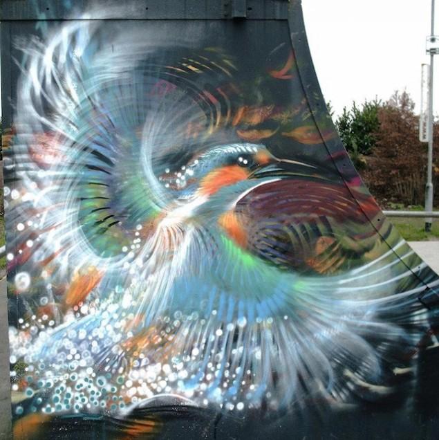 نقاشی روی دیوار (3)