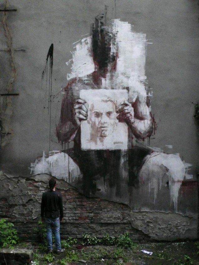 نقاشی روی دیوار (6)