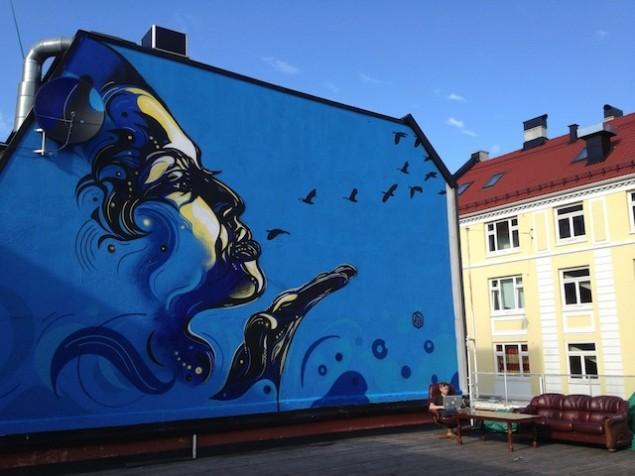 نقاشی روی دیوار (7)