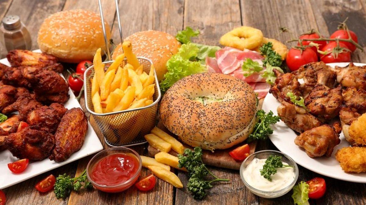غذاهای سریع