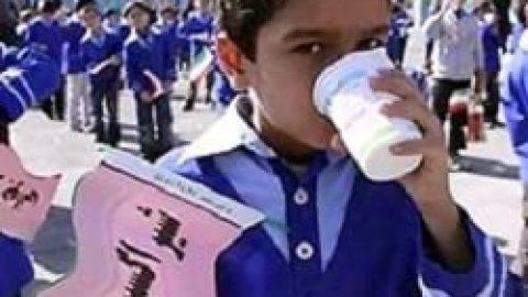 شیر غنی شده به مدارس میرود
