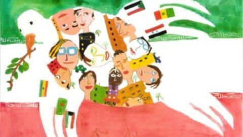 جایزه بین المللی نقاشی صلح کودکان ژاپن به دانش آموز کاشانی رسید