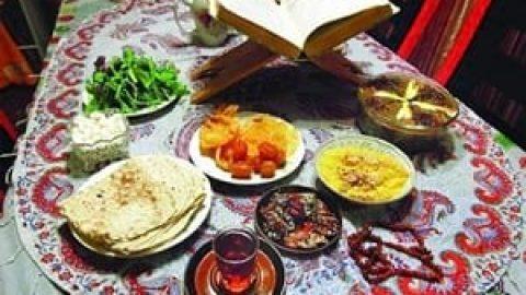 نکات مهم برای تغذیه سالم در ماه مبارک رمضان