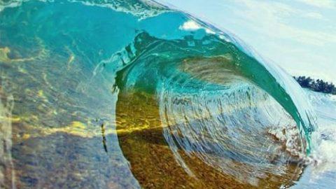 شگفتی عجیب موج ها