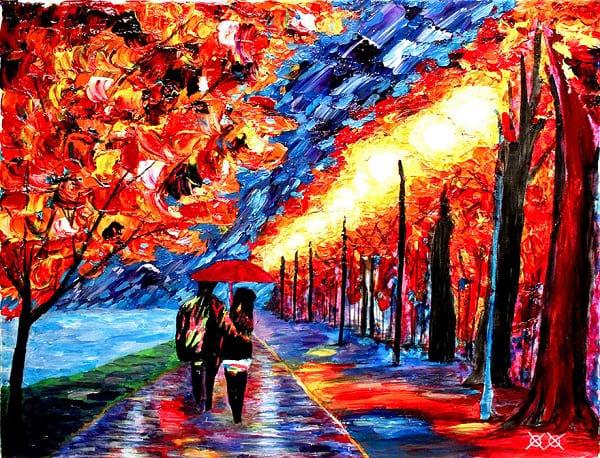 نقاش نابینا (1)