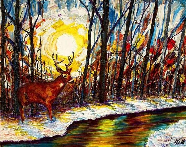 نقاش نابینا (12)