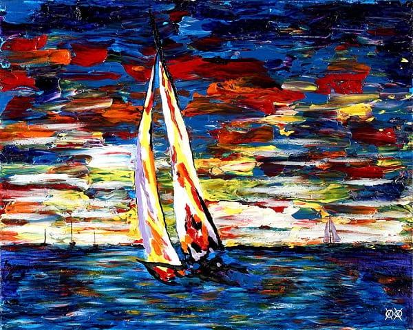 نقاش نابینا (2)