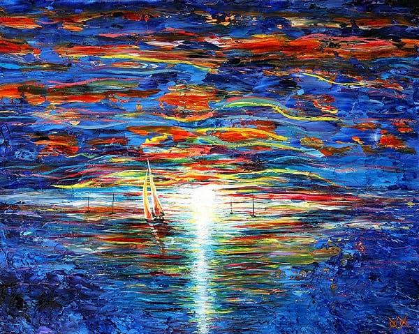 نقاش نابینا (3)