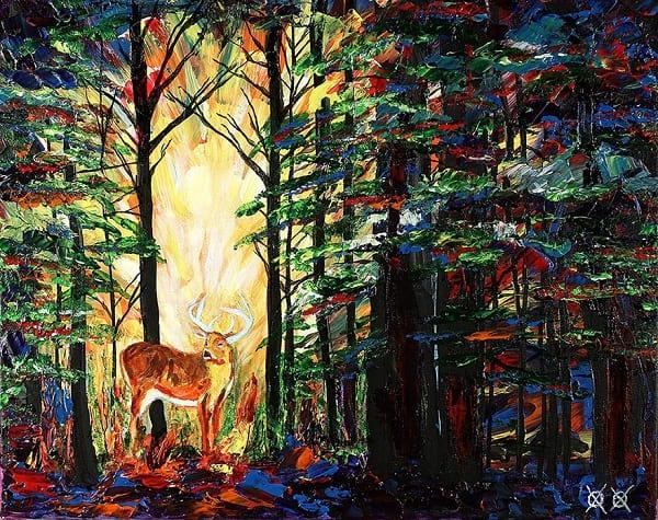 نقاش نابینا (6)