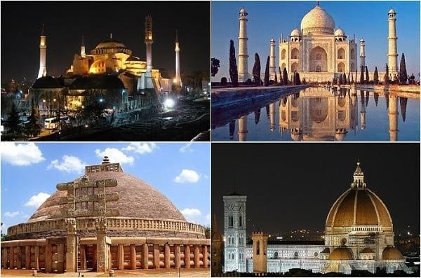 مشهورترین گنبدهای جهان