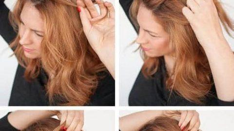 آموزش مدل های بستن مو برای خانم های تنبل (۴)