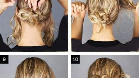 آموزش مدل های بستن مو برای خانم های تنبل (۳)