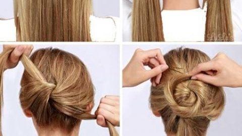 آموزش مدل های بستن مو برای خانم های تنبل (۱)