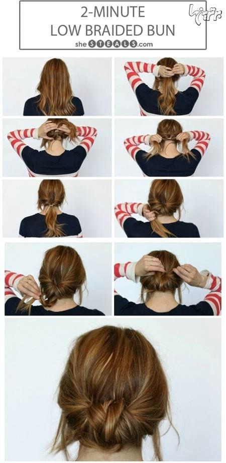 آموزش بستن مو (5)
