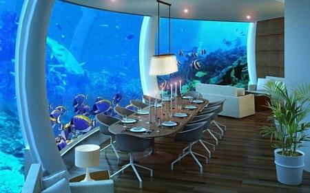 بهترین رستوران های زیر آب (1)