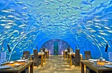 بهترین رستوران های زیر آب (8)