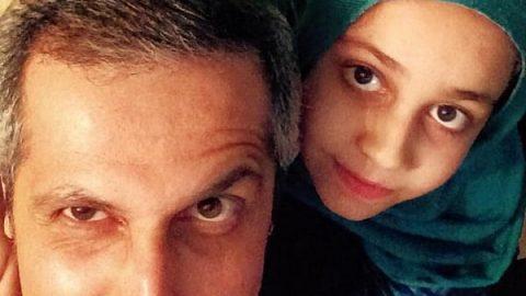تولد ۱۰ سالگی یامین، دختر جواد رضویان