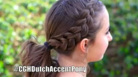 آموزش بافت موی دم اسبی آلمانی