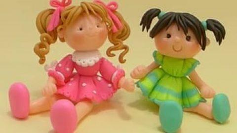 آموزش ساخت عروسک با خمیر بازی (ویدئو)