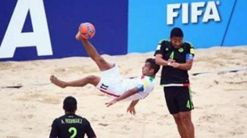 گل احمدزاده نامزد بهترین گل جام جهانی فوتبال ساحلی شد