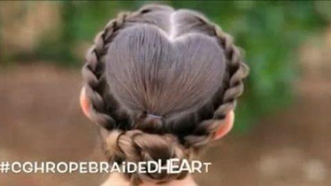 آموزش بافت مو؛ قلب (ویدئو)