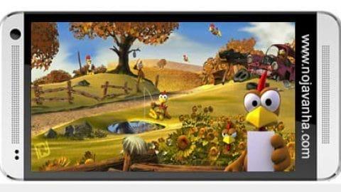 بازی موبایل مرغ های دیوانه