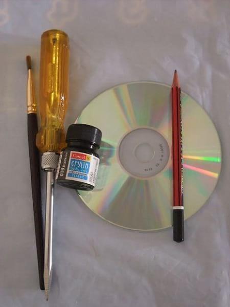 کاردستی با سی دی (1)