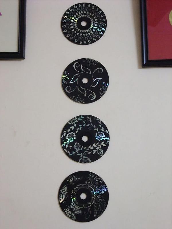 کاردستی با سی دی (11)