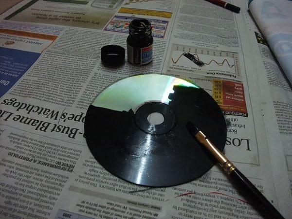 کاردستی با سی دی (2)
