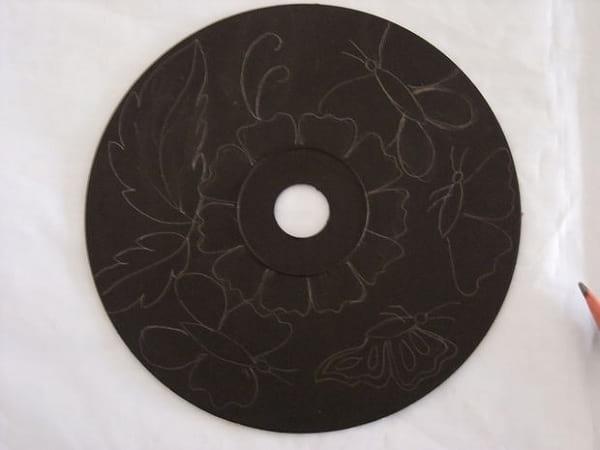 کاردستی با سی دی (4)