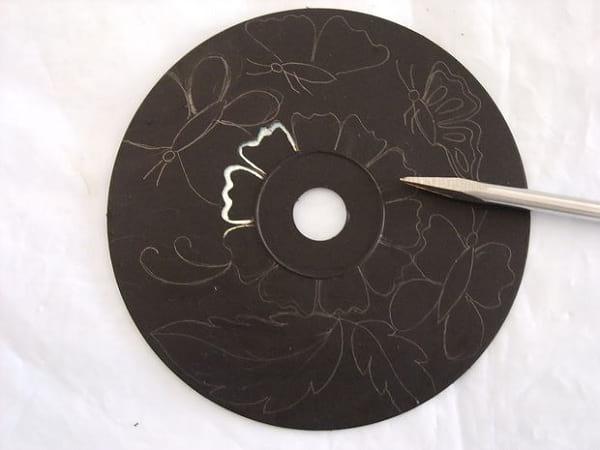 کاردستی با سی دی (5)