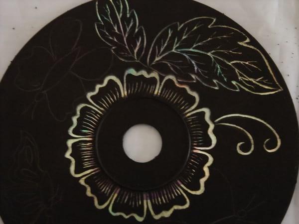 کاردستی با سی دی (6)