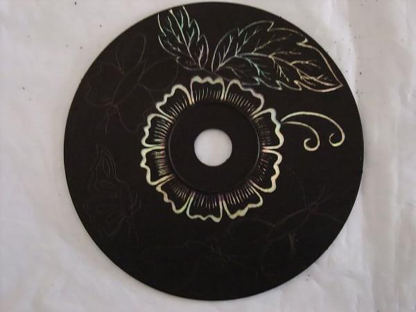 کاردستی با سی دی (7)