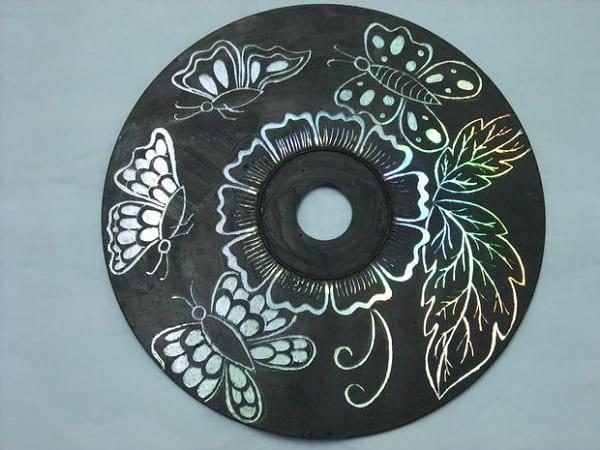 کاردستی با سی دی (8)