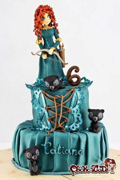 کیک های کارتونی