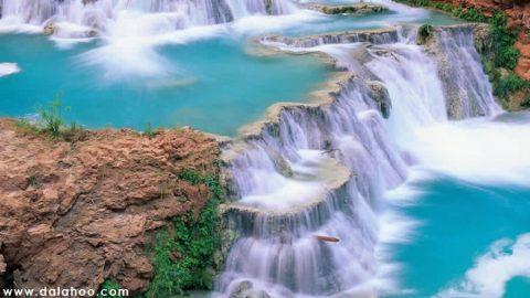 تراس های آبی زیبای جهان (۱)