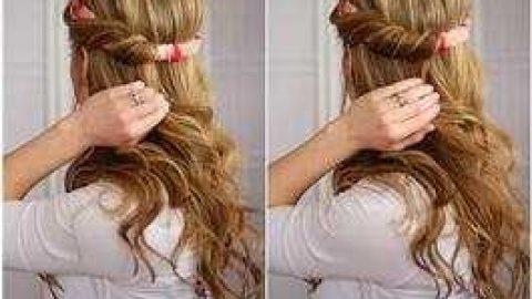 آموزش مدل های بستن مو برای خانم های تنبل (۵)