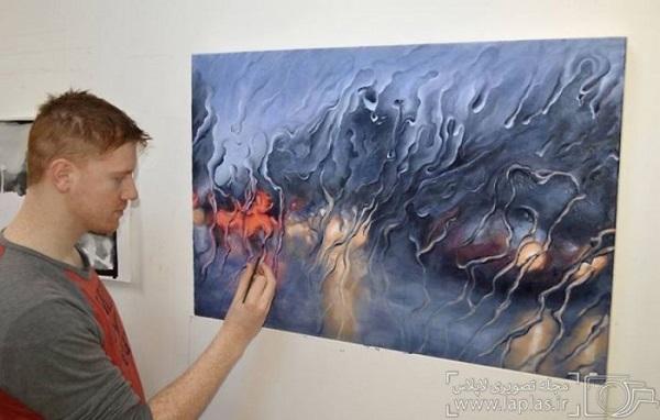 نقاشی یک روز بارانی (1)