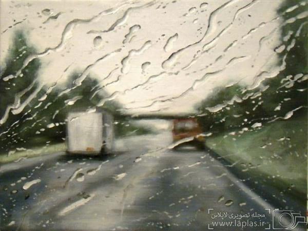 نقاشی یک روز بارانی (2)