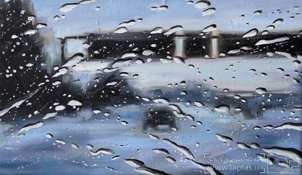نقاشی یک روز بارانی (3)