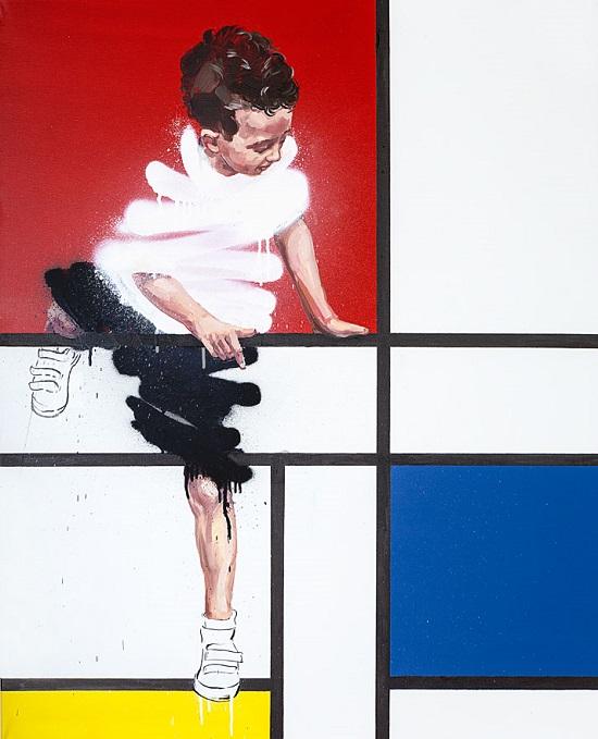 دیوارهای خیابان به جای بوم نقاشی