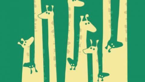 در اینجا چند زرافه می بینید؟