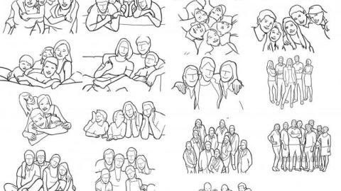 چگونه عکس های خانوادگی بگیریم